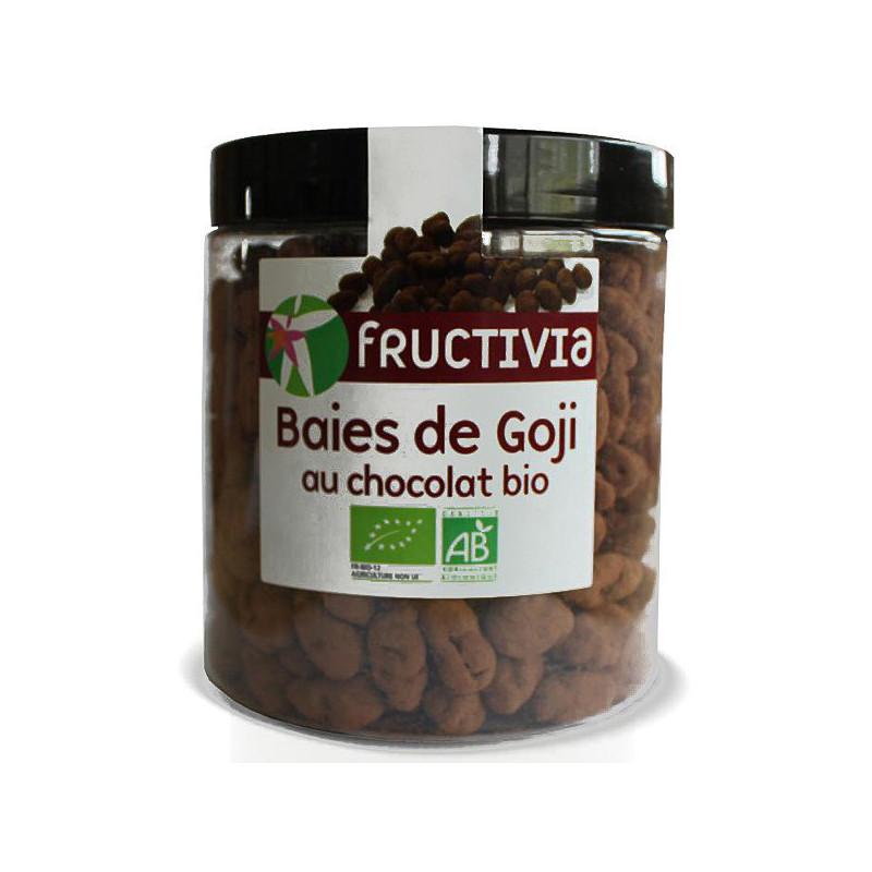 Baies de Goji au chocolat bio Pot 150 gr