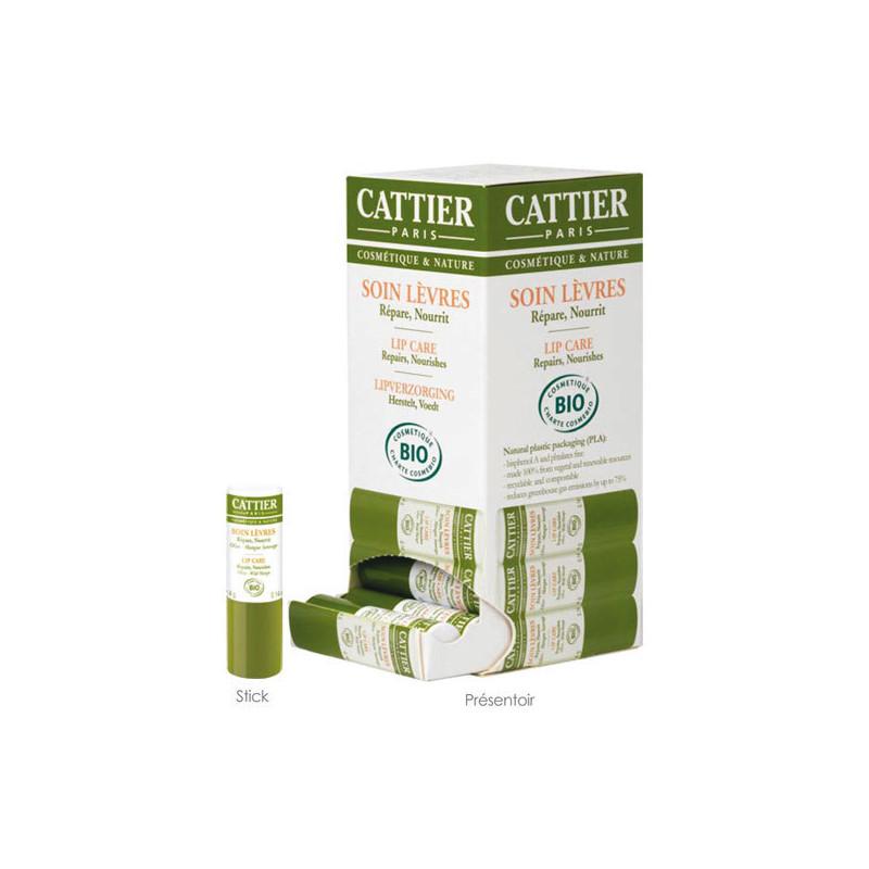 Cattier Soin lèvres bio Stick 4 gr