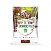 Eclats de Fèves de Cacao au sucre de Coco Bio 30 gr