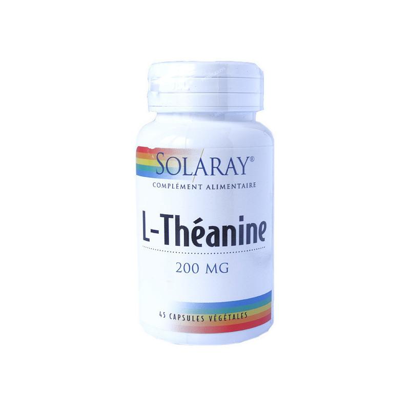 L-Théanine Solaray 45 gélules végétales