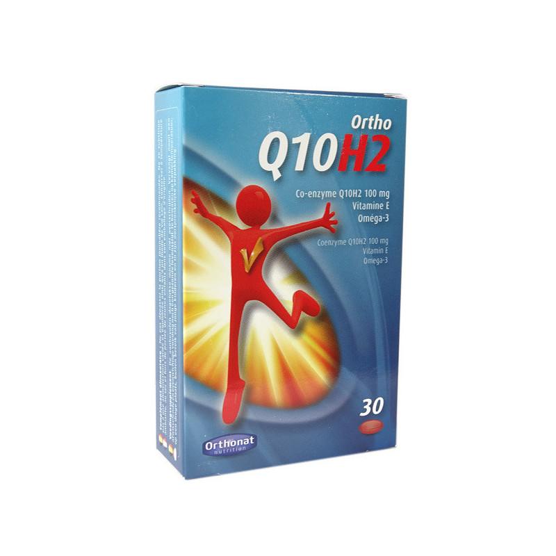 Ortho Q10H2 Ubiquinol 30 gélules 30 gélules
