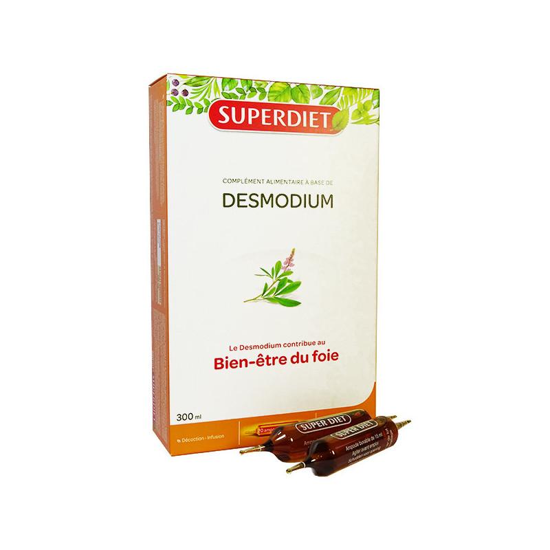 Desmodium 20 ampoules super diet 20 ampoules