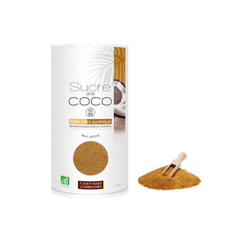 Sucre de Coco Bio 400gr Boite 400gr