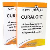 curcuma-curalgic lot 3 boites 30 comprimés