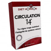 circulation 14 Diet Horizon  1 boîte (45 comprime)