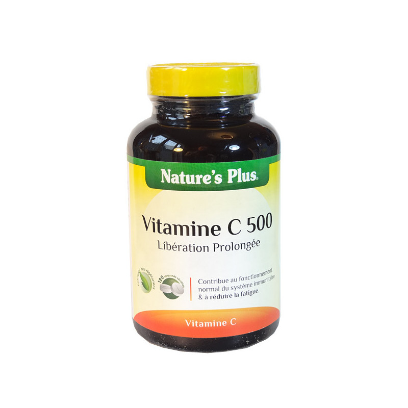 Vitamine C 500MG action prolongée 120 comprimés