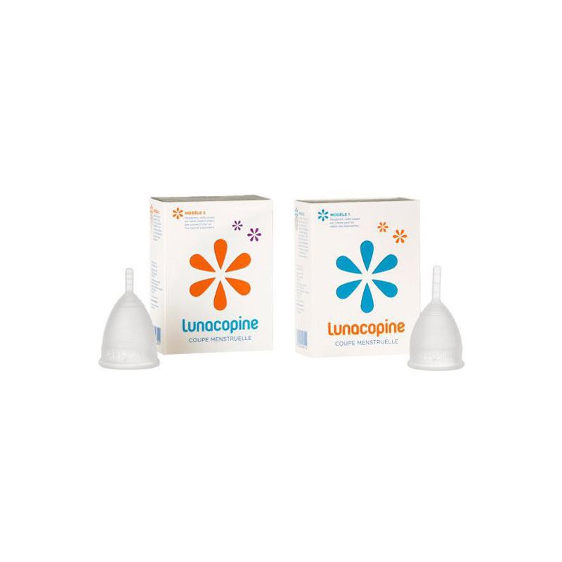 Lunacopine coupe menstruelle Taille 1 incolore