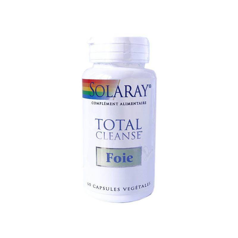 Total Cleanse Foie - Solaray 1 boîte 60 Gélules