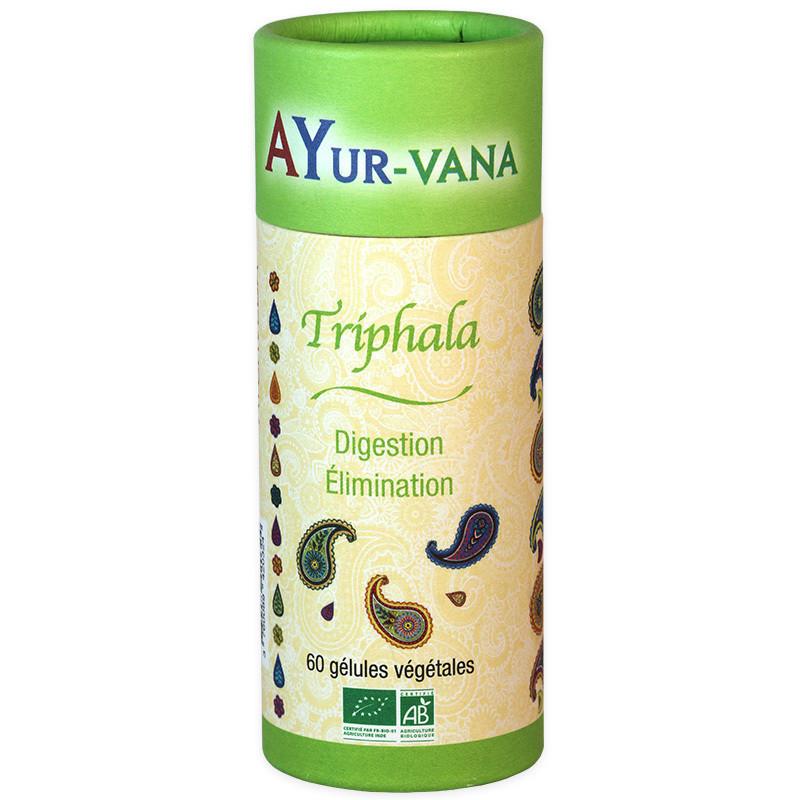 Triphala  minceur Bio 60 gélules Ayur-vana 60 gélules
