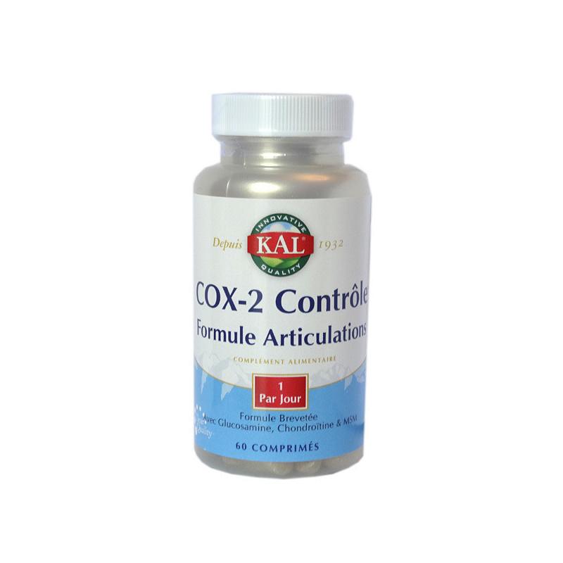 COX-2 Contrôle Formule Articulations 1 boîte de 60 Cp