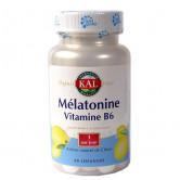 Mélatonine + B6  1 boîte de 60 losanges