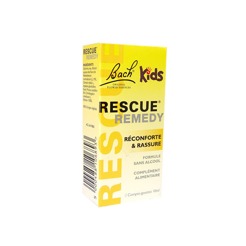 Rescue kids 10 ml en gouttes