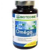 Omega 3 6 9 - 80 capsules Biotechnie 80 capsules + 8 offertes