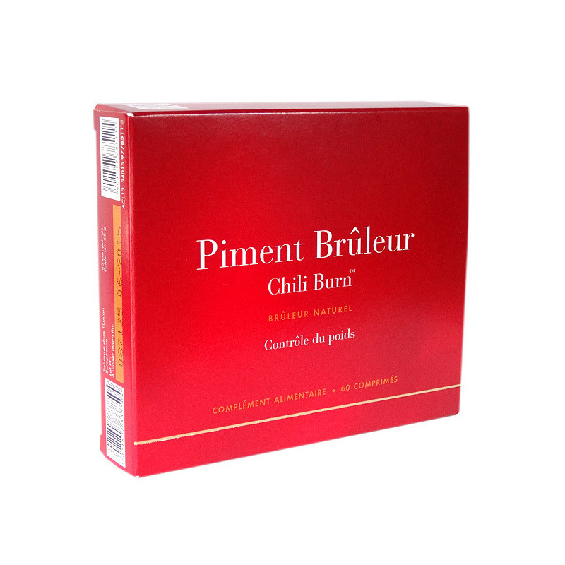 Piment Brûleur Chili Burn 60 comprimés