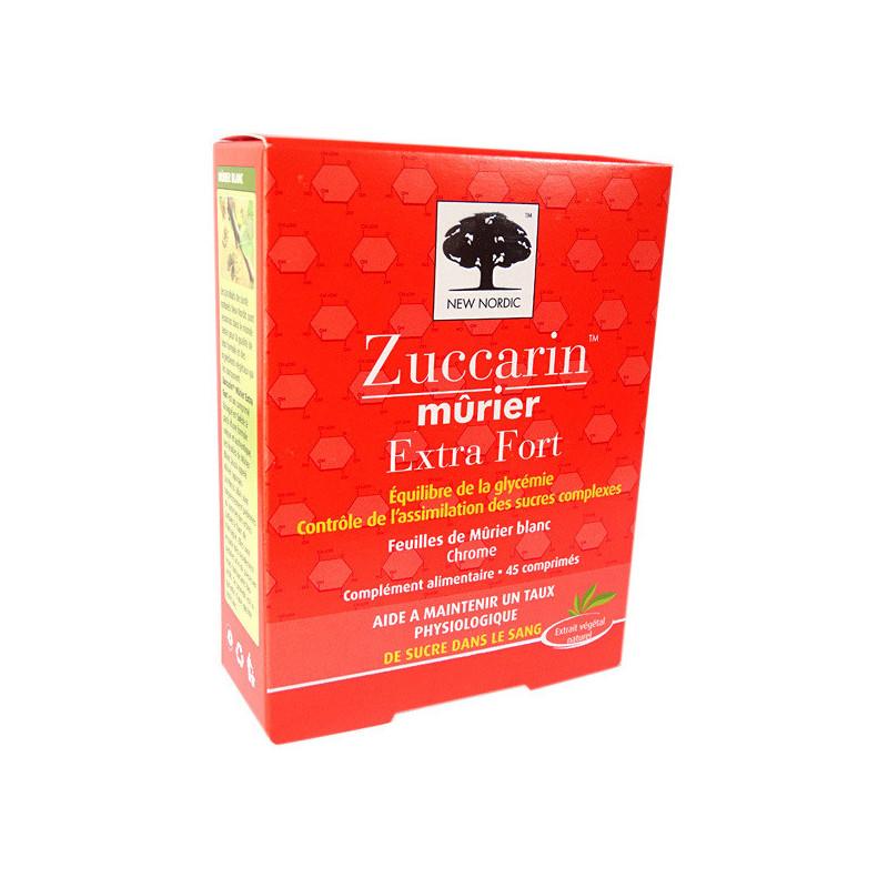 Zuccarin Extra Fort 45 comprimés