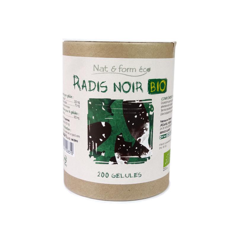 Radis noir Bio Nat & Form 200 gélules