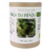 Maca du Pérou Bio Nat & Form 200 gélules