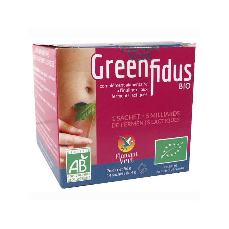 GreenFidus Bio Flamant vert 14 sachets