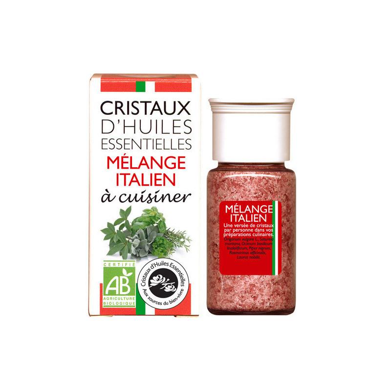 Cristaux Mélange Italien Flacon de 10 gr