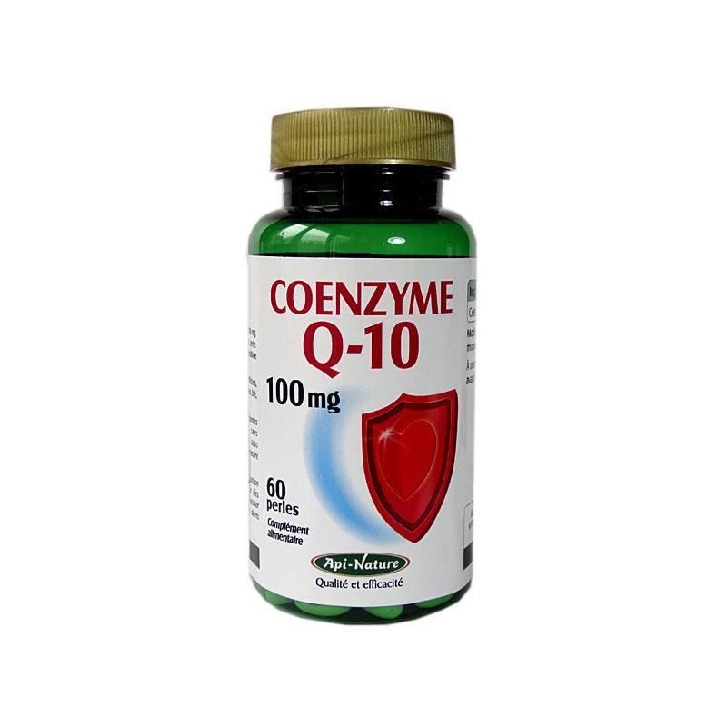 Coenzyme Q10 Api-Nature 60 perles