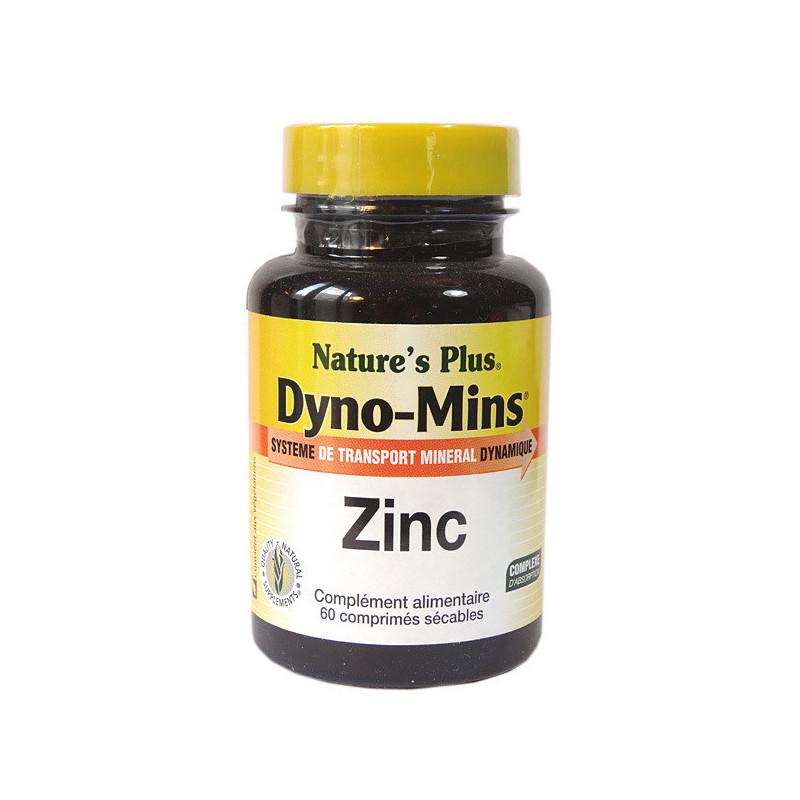 Dyno-Mins Zinc 60 comprimés