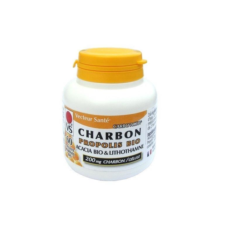 Carbo'Activ Propolis 60 gélules