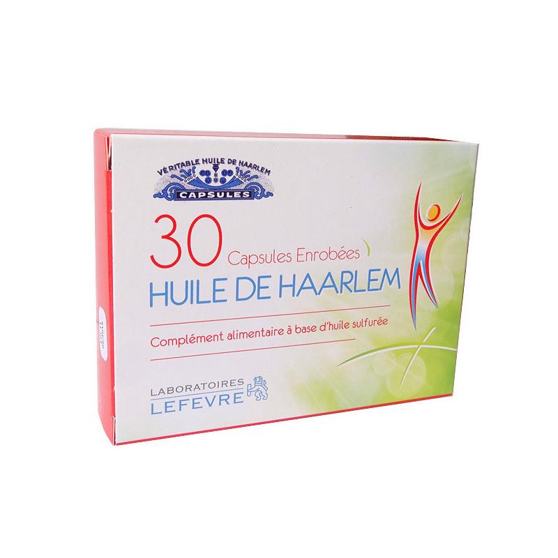 Huile de HAARLEM enrobées 30cp 30 capsules enrobées