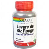 Levure de riz rouge + CoQ10 et omega 3 Solaray 1 boite de 60 gélules