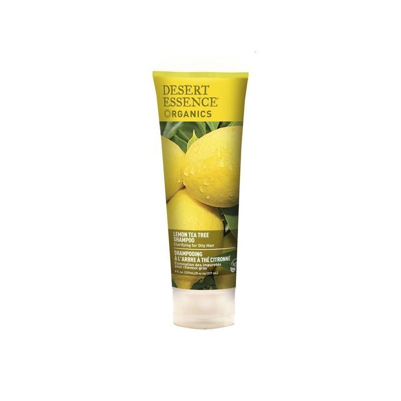 Shampooing Tea Tree et citron Desert Essence 237ml