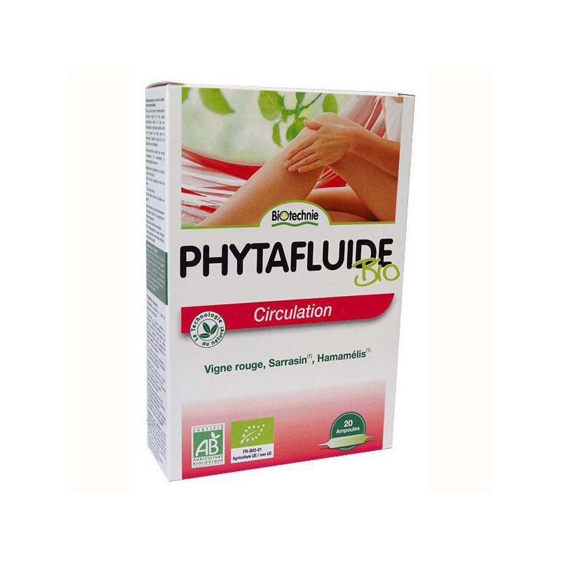 Phytafluide Circulation Biotechnie 20 ampoules 1 boite de 20 ampoules
