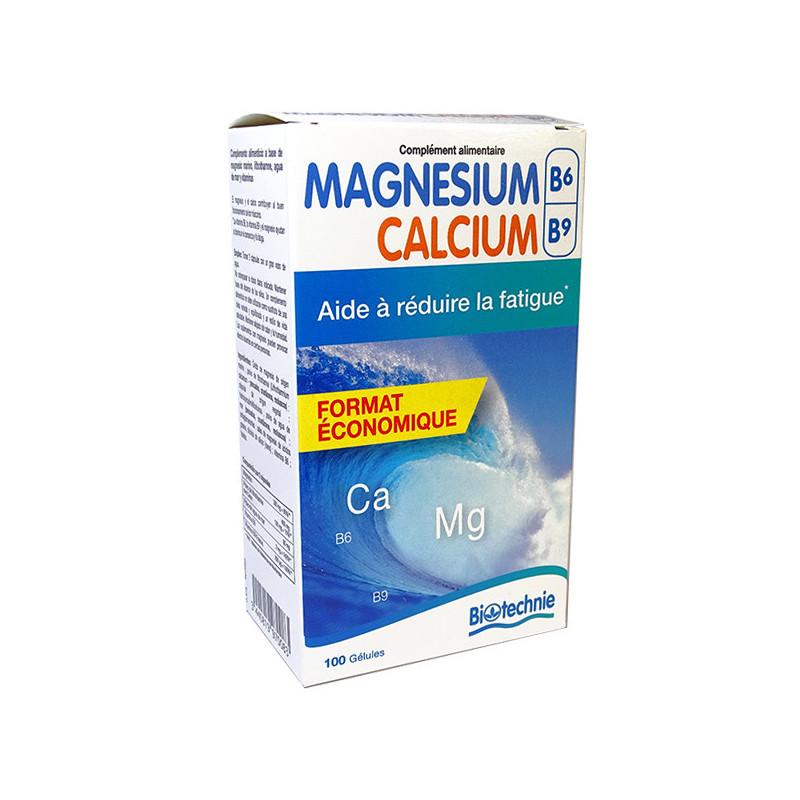 Magnésium Marin + B6 + B9 + Calcium Marin Programme ECO 200 gélules