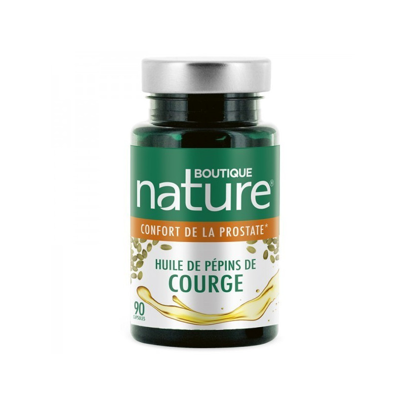 Pepins de courge 90 capsules 500mg
