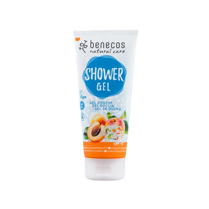 Benecos Gel douche Abricot & Fleur de sureau Bio 1 tube 200 ml