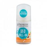 Benecos Déodorant Abricot & Sureau Bio - Roll On 1 Roll-On 50 ml