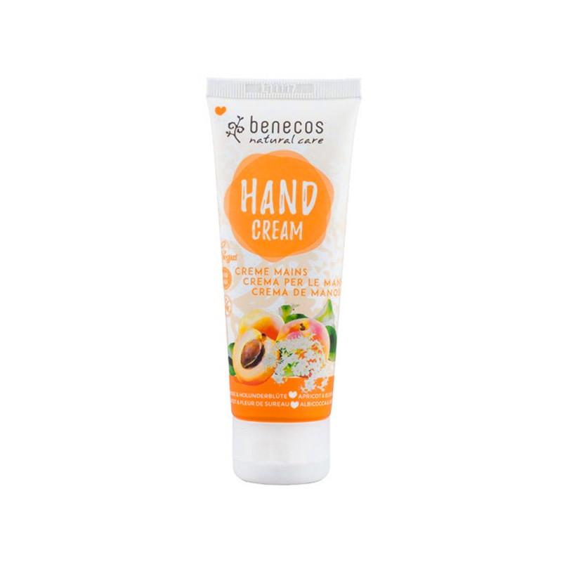 Benecos Crème mains Abricot & Sureau Bio 1 Tube 75 ml