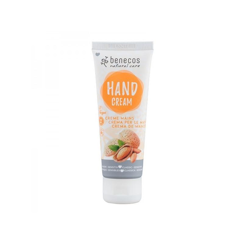 Benecos Crème mains classique et sensible 1 Tube 75 ml