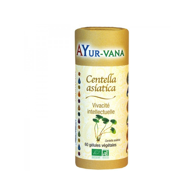 Centella Asiatica - Gotu Kola Bio 60 gélules 60 gélules végétales
