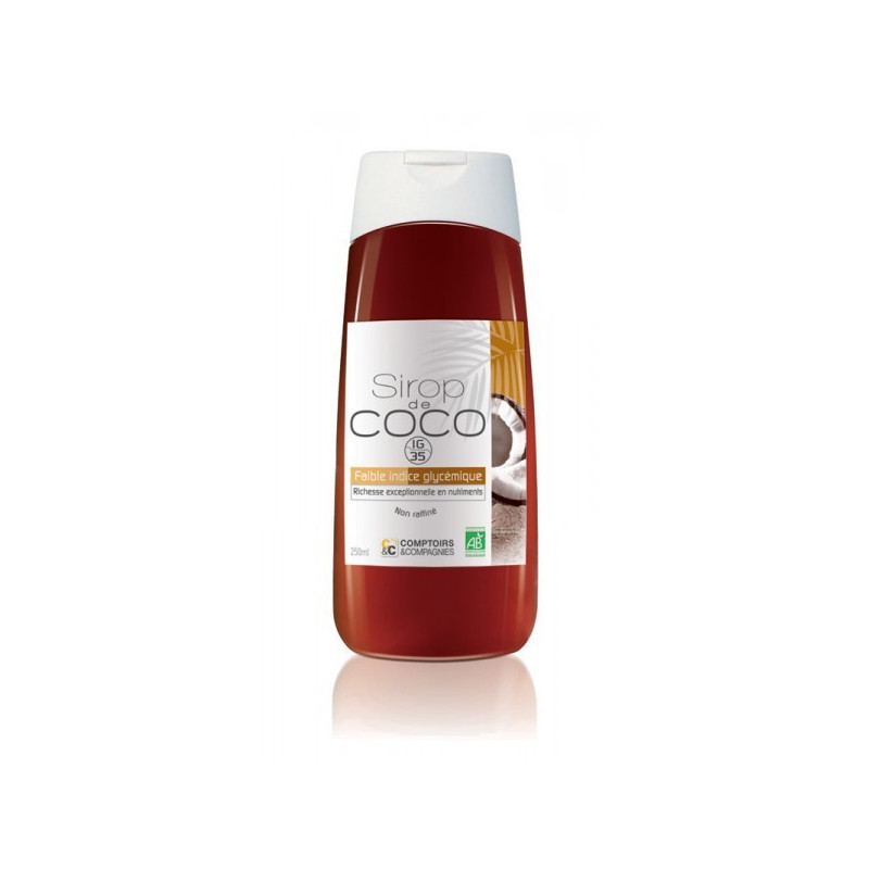 Sirop de coco bio 500ml Flacon squeezer 500 ml
