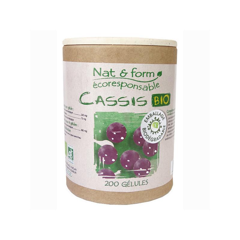 Cassis Bio Nat & Form 200 gélules