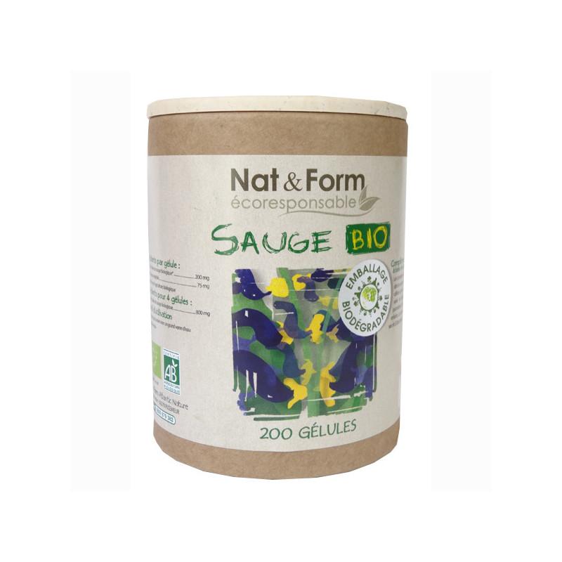 Sauge Bio Nat & Form 200 gélules 200 gélules