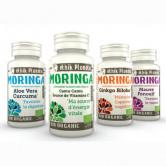 Moringa Mémoire Gingko Biloba 1 boite de 60 gélules