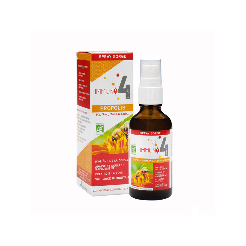 IMMUNO 4 spray Bio Gorge 1 spray 50 ml