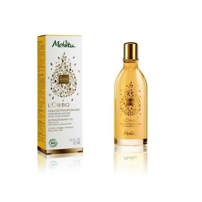 L'or Bio Huile extraordinaire Melvita 1 flacon spray 50 ml