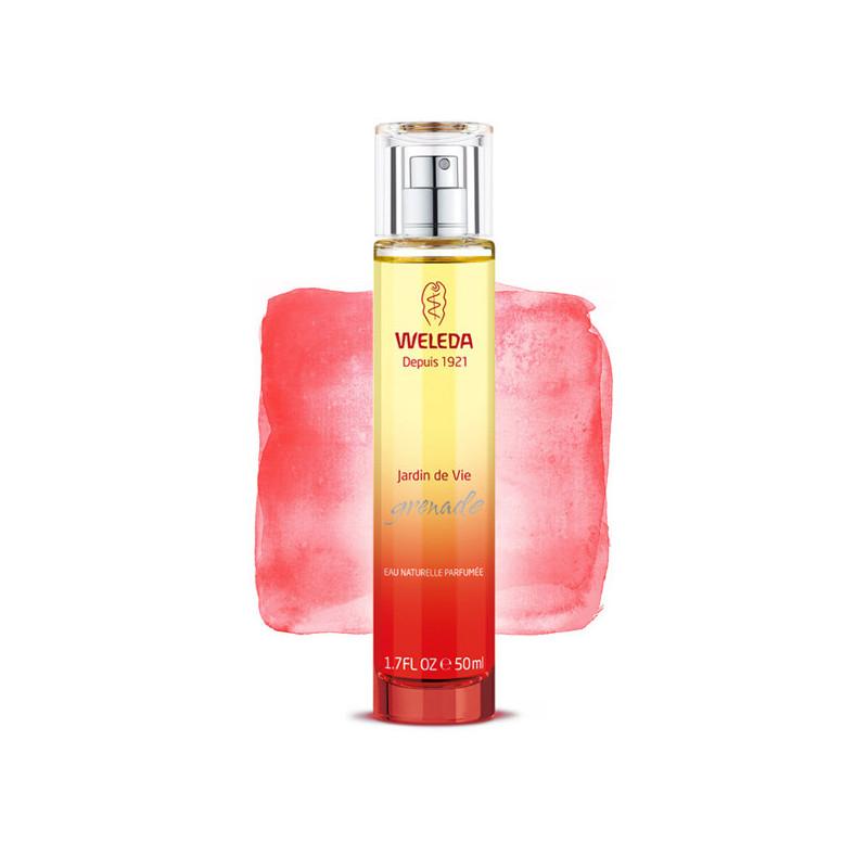Jardin de vie Grenade - Eau Parfumée Weleda 1 flacon spray 50 ml