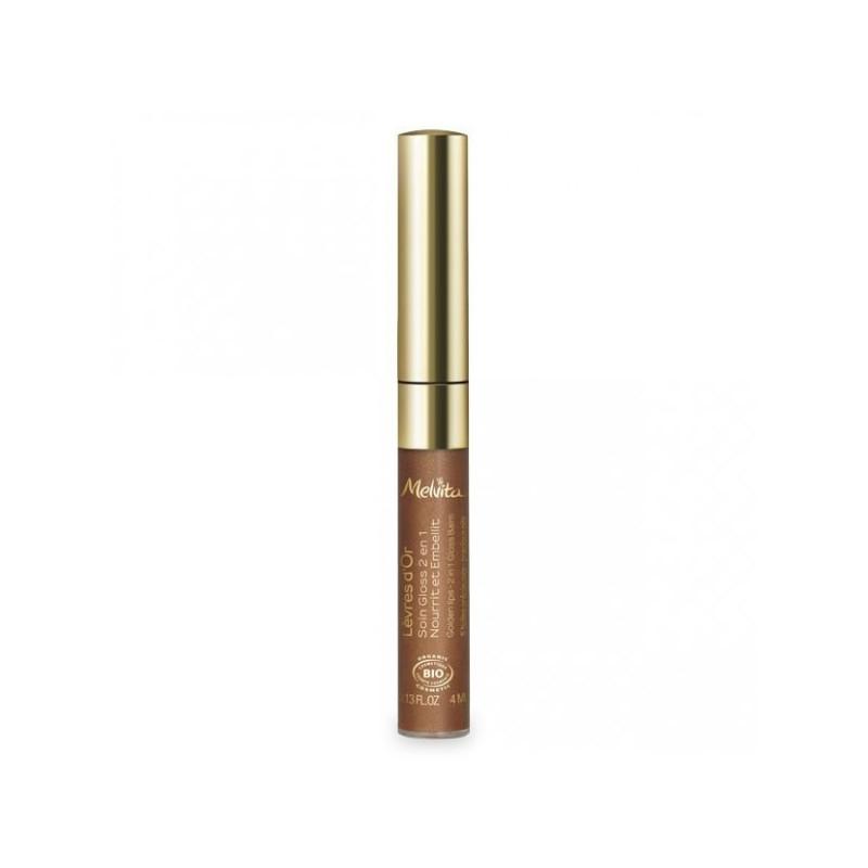 Lèvres d'Or Gloss Bio 2 en 1 Melvita Gloss 4 ml