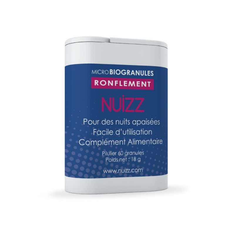 Nuizz Ronflement Microbiogranules 60 Microbiogranules