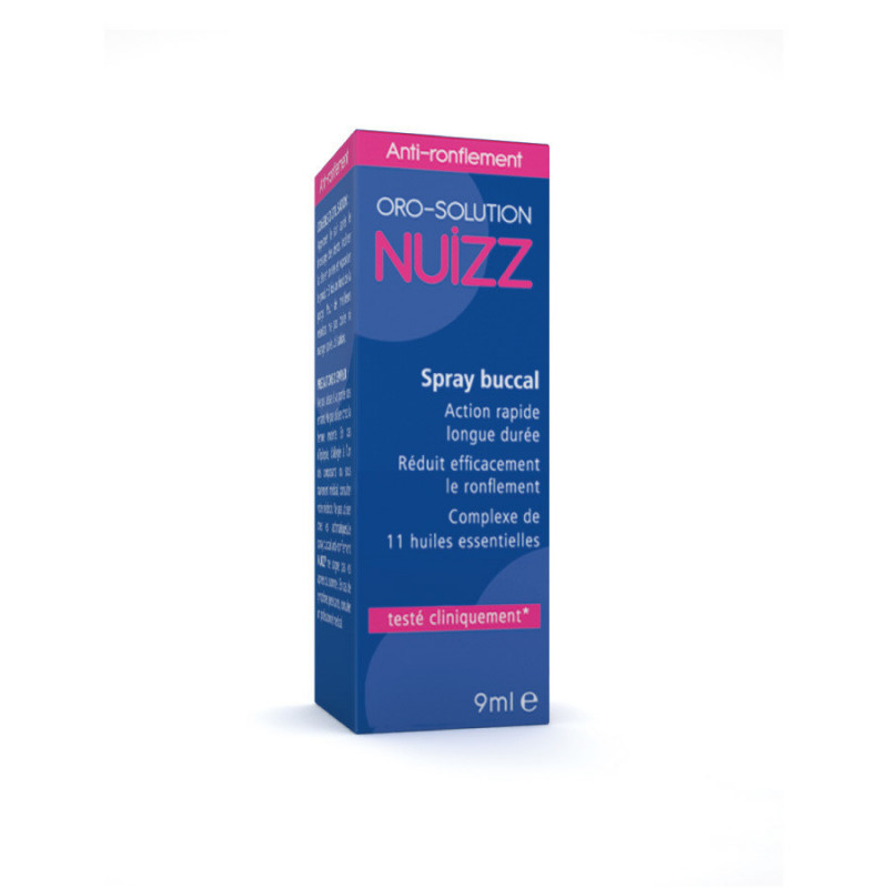 Nuizz Ronflement Spray 9ml Spray de 9 ml