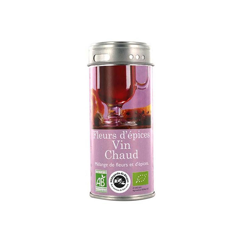 Fleurs d'épices Vin Chaud 50 gr Boite métallique de 50 gr