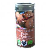 Fleurs d'épices Pains d'épices 50 gr Boite métallique de 50 gr