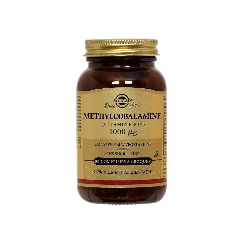 Methylcobalamine - Vit. B12 30 comprimés 30 comprimés à croquer